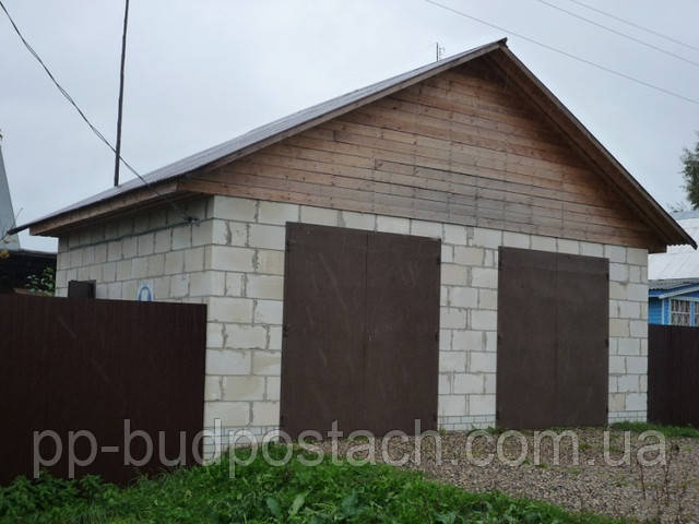 Секрет постройки гаража из пеноблоков