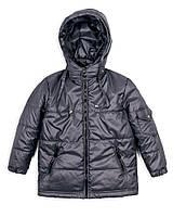 Детская куртка на мальчикавесна - осень 1 - 5 лет, серая