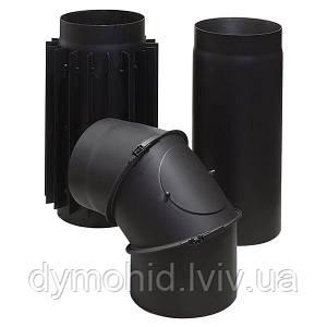 Елементи димоходу з чорної сталі Тарнава.