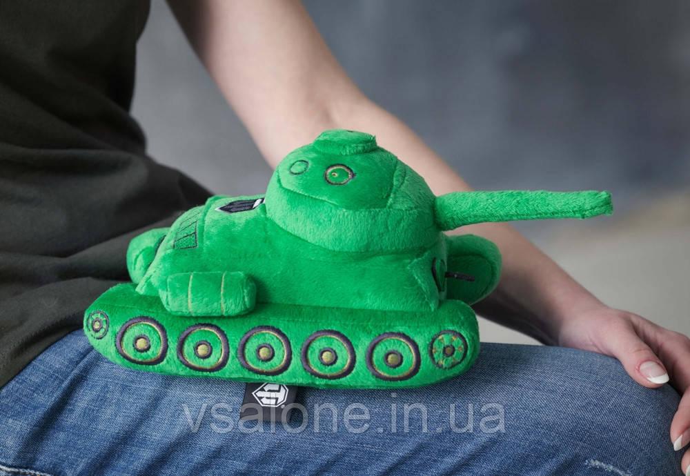 Плюшевая игрушка танк Т-34