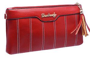 Модний жіночий клатч 703 red