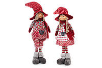 Новогодняя декоративная кукла 58 см, 2 вида