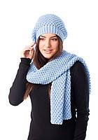 Комплект женский шапка+ шарф 3138