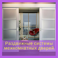 Раздвижные системы межкомнатных дверей