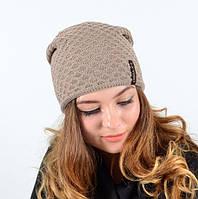 Стильная качественная  женская шапка
