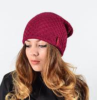 Качественная вязаная женская шапка