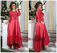 Роскошное ассиметричное вечернее платье в пол. 3 цвета!