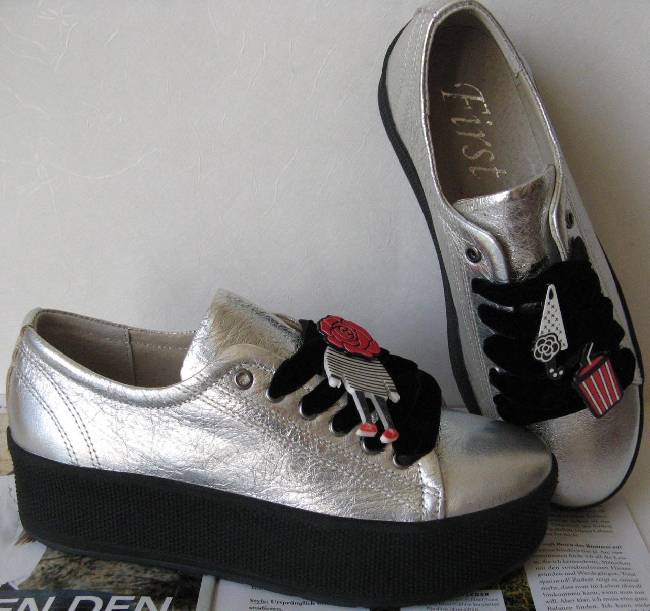 Mante first! Женские кеды туфли кроссовки серебро сникерсы слипы ... 363dee2e02901