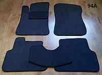 """Коврики на Daewoo Lanos / Sens '98-. Текстильные автоковрики. Тип """"Бюджет""""."""