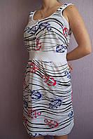 Женская ночная рубашка для беременных и кормящих якоря
