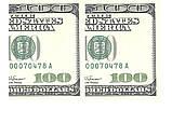 Вафельная картинка 100 dollars, фото 2