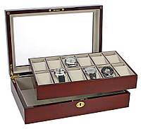 Шкатулка для часов и ювелирных украшений