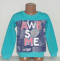 """Кофта на девочку """" Awe so me""""  начеc3-4,4-5,5-6,6-7,7-8 лет, 100% хлопок.Детская одежда оптом"""