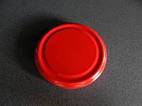 Крышка закаточная твист-офф размер 100 мм  красная (на банки с широкой горловиной)