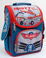 Школьный рюкзак 1 Вересня Самолетики (552238)