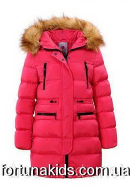 Пальто зимнее для девочек  GLO-STORY 134-170 р.р.