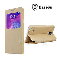 Baseus Terse Leather Case чехол-книжка для Samsung Galaxy Note 4 (n910)