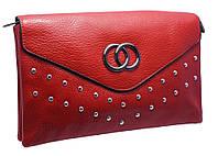 Изысканный женский клатч 1110 red