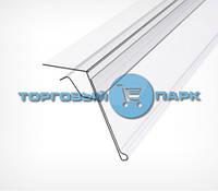 Ценникодержатель для стеклянных полок GLS