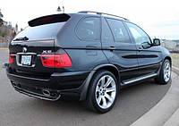 Накладка на задній бампер BMW X5 E53 1999-2006 р. в. в стилі 4.8