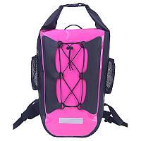 Спортивный водонепроницаемый рюкзак 30L розовый