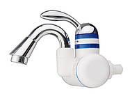 Мгновенный водонагреватель с коротким краном и встроенным УЗО