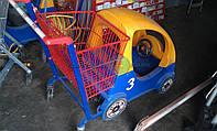 Тележка детская для супермаркета Wanzl Fun Mobile 80 б/у, фото 1