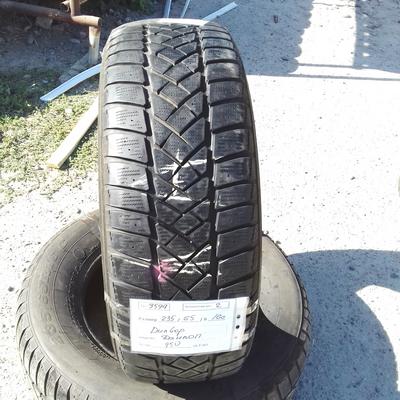 Шины б.у. 235.65.r16с Dunlop SP LT60-8 Данлоп. Резина бу для микроавтобусов. Автошина усиленная. Цешка
