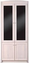 Шкаф для одежды с зеркалами Полонез Ш-1777 (БМФ) 970х530х2190мм