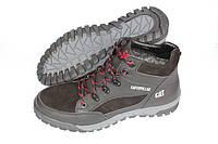 Зимние спортивные ботинки на меху черные, Б14