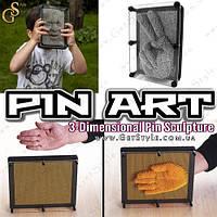 "Пин Арт 3D - ""Pin Art"" - 20 х 15 см."