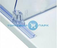 Пластиковый Т-профиль 10 мм для крепления разделителей на полке T-RAIL10, фото 1