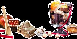 Шоколадные изделия ручной работы.