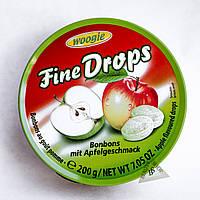Леденцы Fine Drops Woogie леденцы со вкусом яблока 200 гр