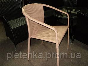 Кресло плетенное из искусственного ротанга  №4