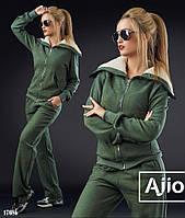 Теплый женский спортивный костюм - 17086