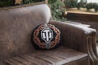 Декоративная подушка с лого игры «World of Tanks», круглая, фото 1