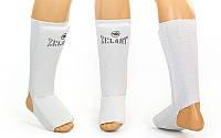Защита для ног (голень и стопа) Zelart-sport белый