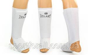 Защита для ног (голень и стопа) Zelart-sport белый XS
