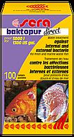 Sera baktopur direct - Средство по уходу за водой в пресноводных и морских аквариумах на 5000 л, 100таб