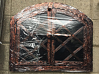 "Дверка под коптилку арка метал ""3"" мм .Дута 330х430"