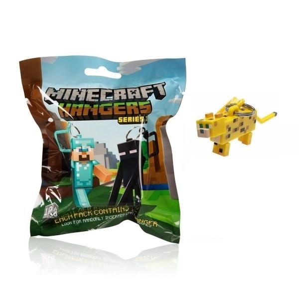 Брелок Minecraft Ocelot - 8 см.