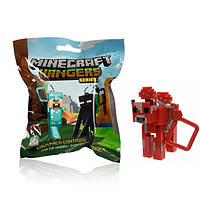 Брелок Minecraft детеныш Грибной коровы - 10 см.