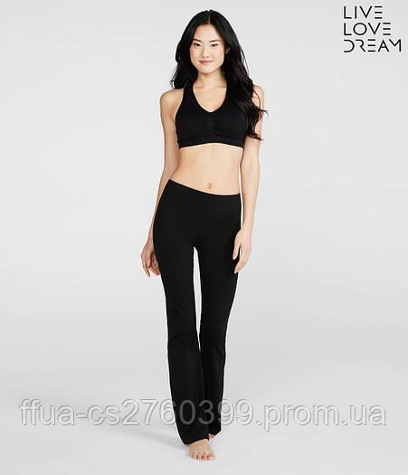 Штаны женские спортивные черные Aeropostale для йоги, для фитнеса