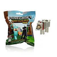 Брелок Minecraft Wolf - 10 см.