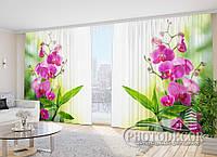 "Фото Штори в зал ""Фарби літа"" 2,7 м*5,0 м (2 полотна по 2,5 м), тасьма"