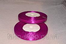 Атласная лента 0,6см цв.фиолетово-баклажанный