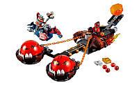 Конструктор LELE 79238 Nexo Knight Безумная колесница Укротителя