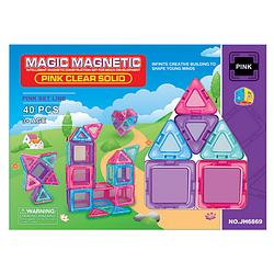 """МАГНИТНЫЙ КОНСТРУКТОР """"MАGIC MAGNETIC"""" (40 ДЕТ.)"""