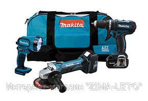 Набор аккумуляторных инструментов MAKITA DK1882